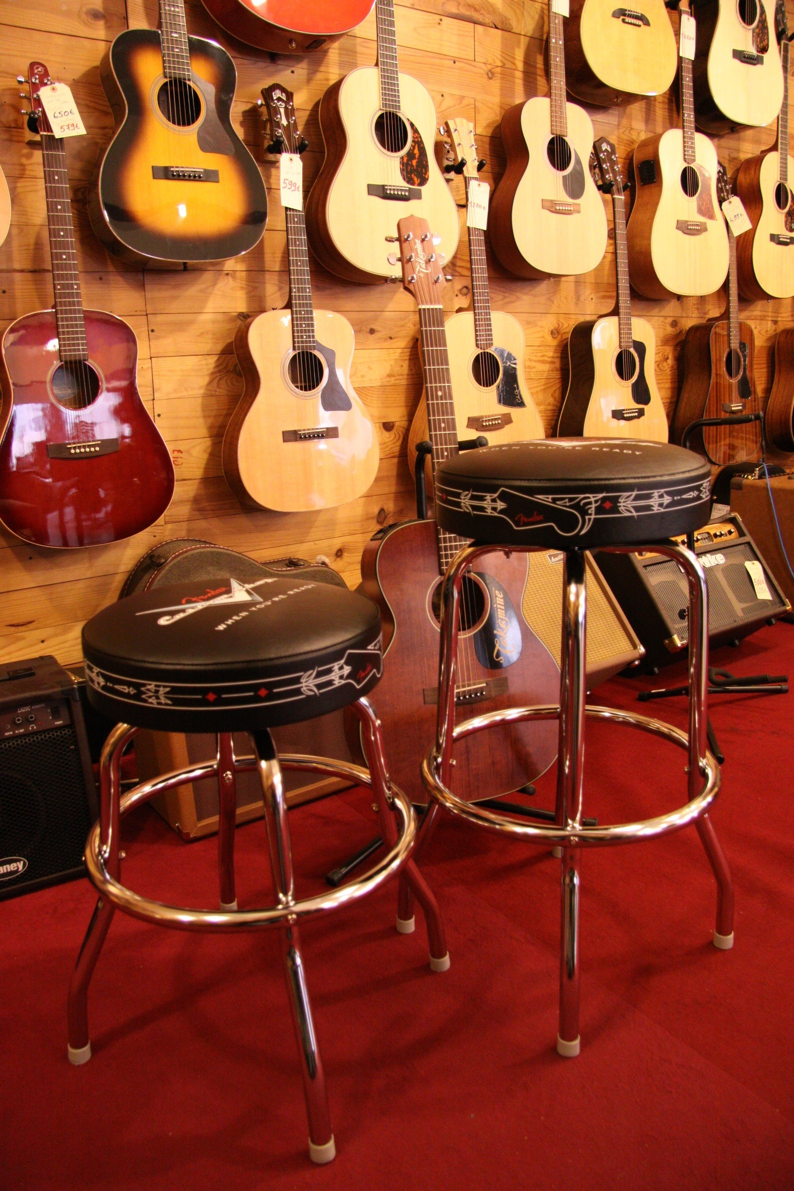 tabouret fender custom shop rockshop magasin de guitares montpellier magasin de musique. Black Bedroom Furniture Sets. Home Design Ideas
